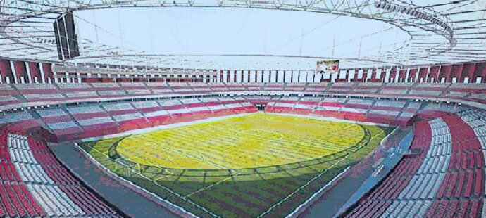 Takhle vypadá devět let starý návrh nového stadionu v Brně