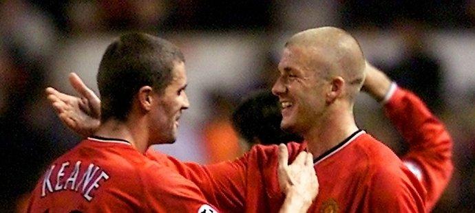 Roy Keane a David Beckham