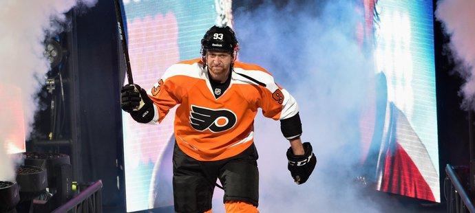 Jakub Voráček je teď hlavní atrakcí Flyers.