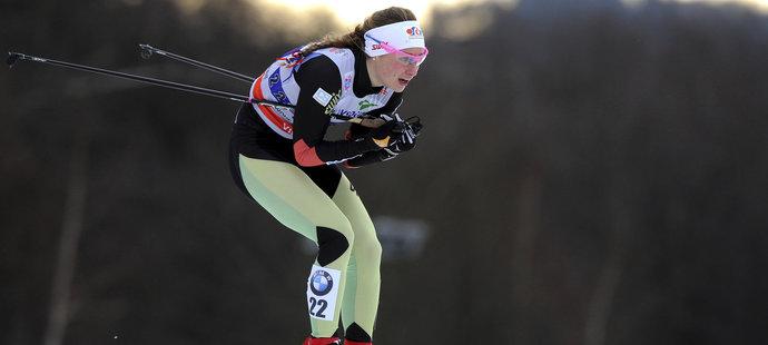 Petra Nováková skončila šestá ve skiatlonu na 15 km v Lillehammeru a zaznamenala svůj nejlepší výsledek ve Světovém poháru.