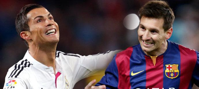 Další souboj Ronaldo vs. Messi, o trofej Nejlepšího fotbalisty Evropy