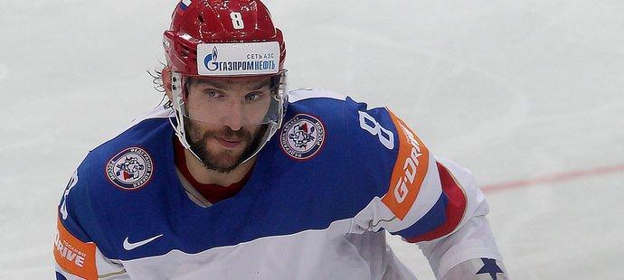 Alexandr Ovečkin přistál v Praze v pátek a v sobotu pomohl Rusku zdolat v semifinále MS USA