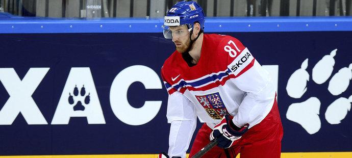 Český obránce Jakub Nakládal si na mistrovství v Rusku nezahraje. V Calgary eprošel lékařskou prohlídkou