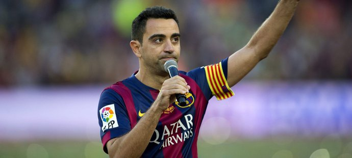 Xavi, další z barcelonských legend