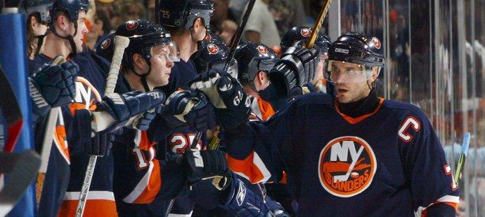 Alexej Jašin odehrál u Islanders pět sezon.