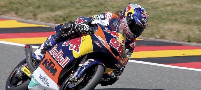Karel Hanika nedokázal uhájit dobrou startovní pozici.