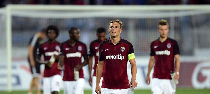 Sparťanské zklamání. Letenští v úvodu ligy jen remizovali 0:0 v Jihlavě. Kapitán Bořek Dočkal se stejně jako jeho parťáci neprosadil.