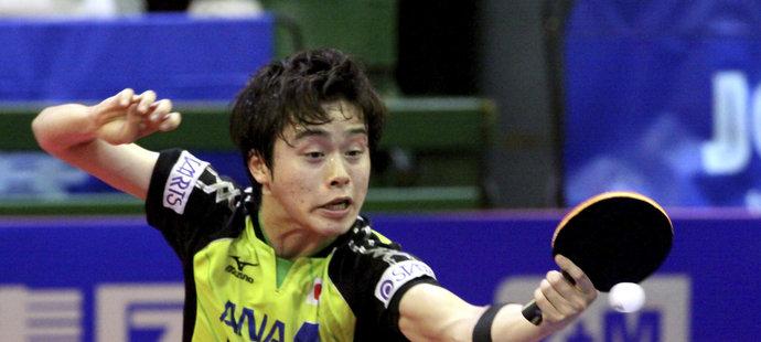 Masataka Morizono na letošním Czech Open v Olomouci