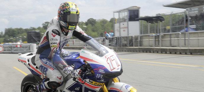 Karel Abraham skončil na Grand Prix Brna čtrnáctý
