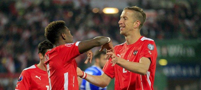 V Rakousku teď rostou výborní fotbalisté.