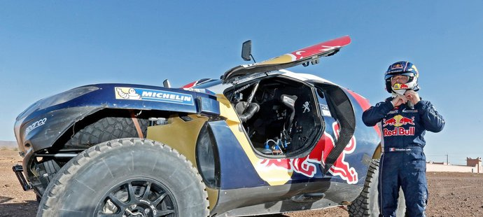 Sébastien Loeb si nový speciál vyzkoušel už na rallye v Maroku