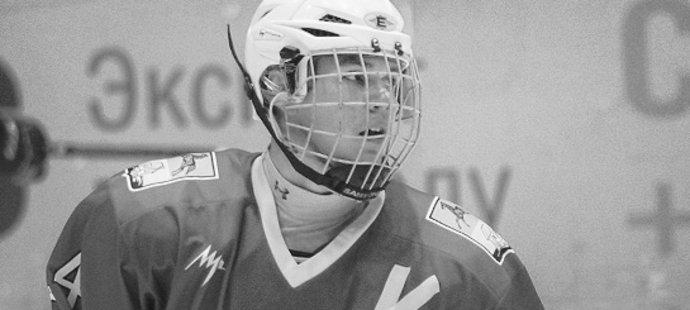 Tragicky zesnulý ruský hokejista Alexandr Orechov