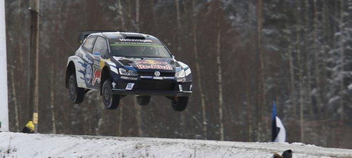 Sebastien Ogier si letí pro třetí výhru na Švédské rallye v kariéře