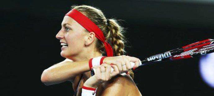 Petra Kvitová se dočkala druhého vítězství v sezoně
