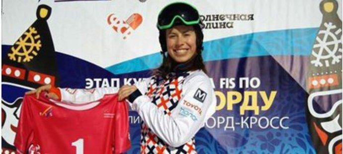 Eva Samková bude do závodu Světového poháru startovat z pozice číslo jedna