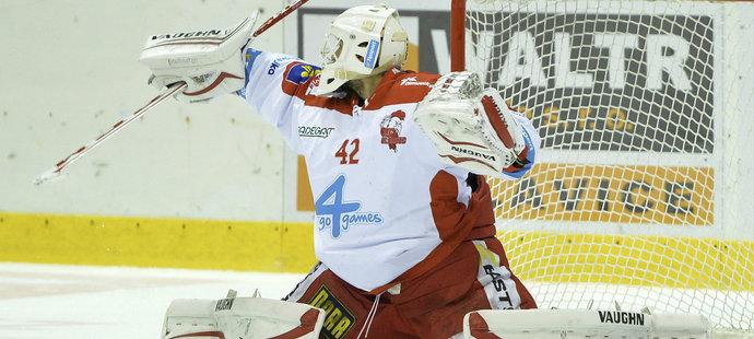 Branislav Konrád se svým výkonem nebyl vůbec spokojen (archivní snímek)