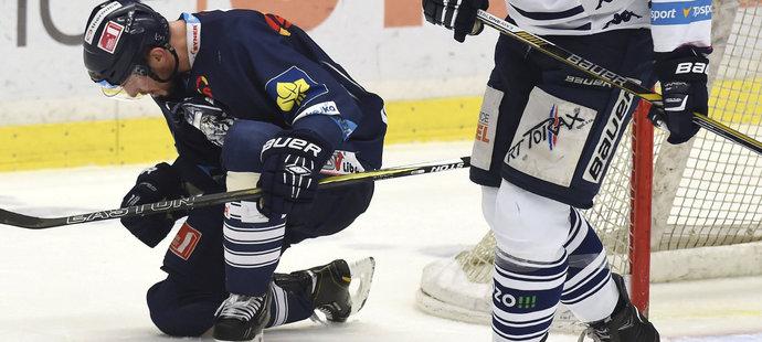 Petr Vampola si v úterý prožil gólovou radost hned třikrát