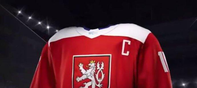 Český dres zezadu
