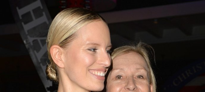 Karolína Kurková dováděla na párty v Miami s Martinou Navrátilovou.