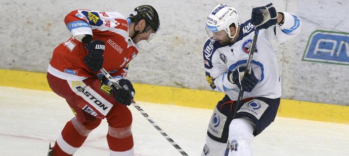 První čtvrtfinále mezi Olomoucí a Plzní přineslo i souboj Húževky se Svobodou