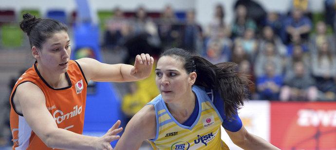 Zleva Cecilia Zandalasiniová ze Schia a Sonja Petrovičová z USK