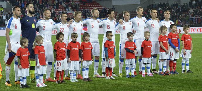 Základní sestava české reprezentace pro zápas se Skotskem