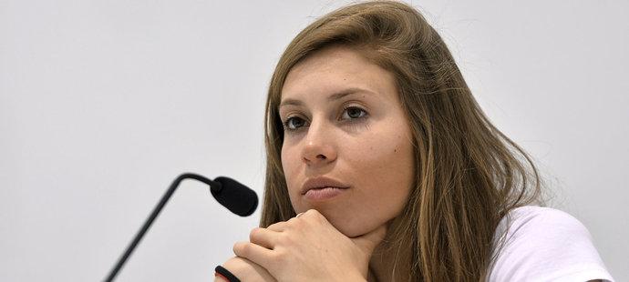 Eva Samková si teď od sportování chvíli odpočine