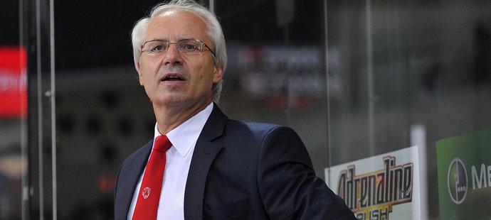 Václav Sýkora se z pozice konzultanta přesunul na místo hlavního trenéra