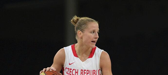 Kateřina Elhotová bude mít od basketbalu přestávku, čekají jí mateřské povinnosti