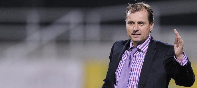 Trenér Martin Pulpit, když trénoval Baník Ostrava