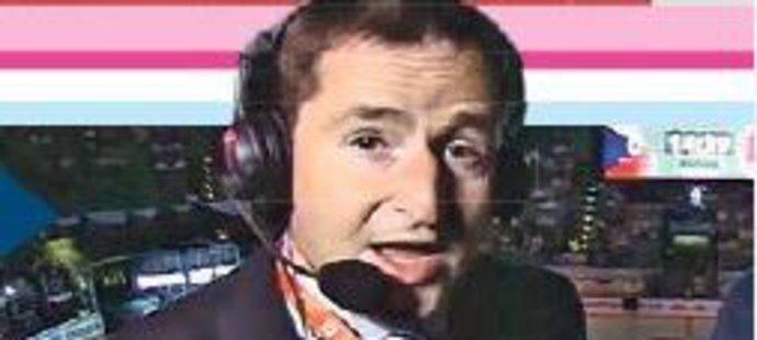 S kravatou je někdy problém, Robert Záruba o tom ví své