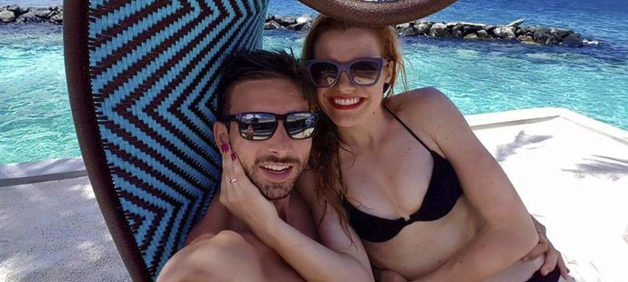 Novomanželé Koukalovi na svatební cestě v tropickém ráji