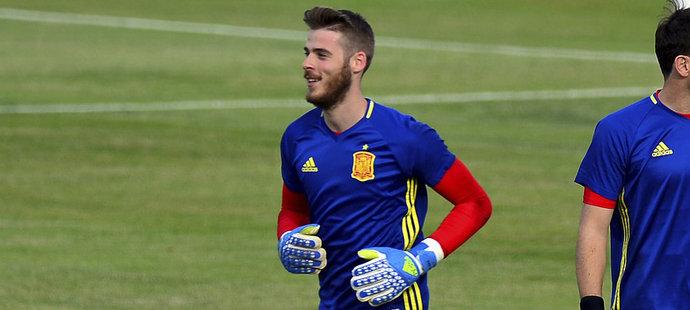 Dva španělští brankáři: Iker Casillas (vpravo) a David de Gea