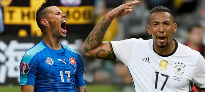 Slovenští fotbalisté vyzvou v osmifinále EURO německé favority