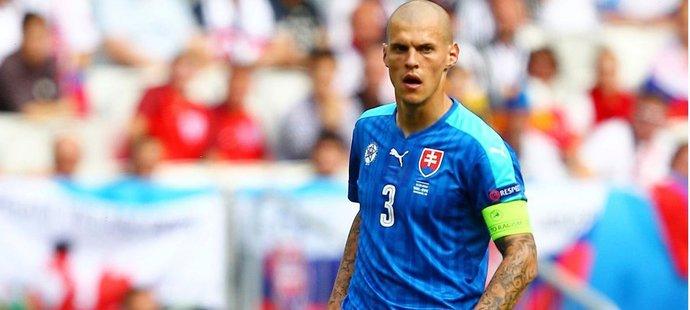 Slovenský kapitán Martin Škrtel se v osmifinále EURO postaví proti Německu