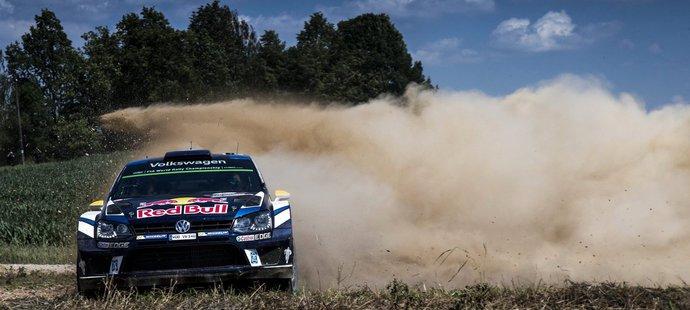Andreas Mikkelsen na rallye Polska