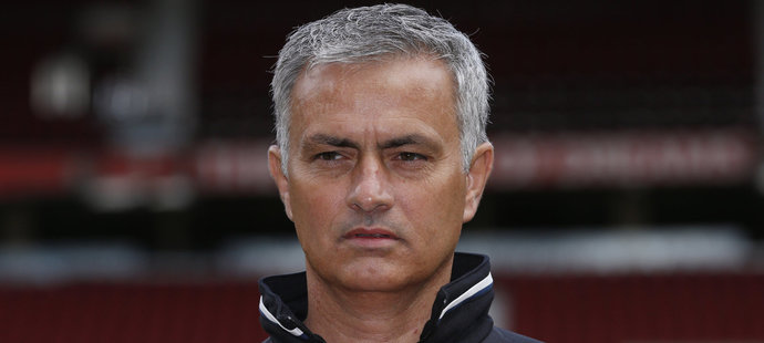 "Z manažera José Mourinha je ""rudý ďábel""."