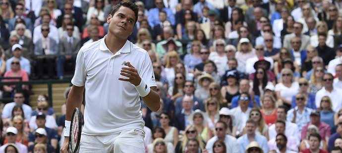 Kanadský tenista Milos Raonic