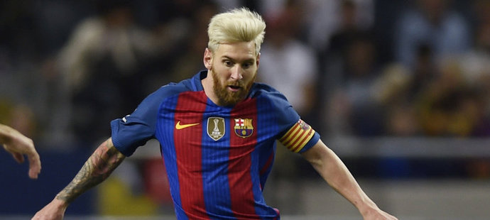 Lionel Messi změnil svoji vizáž
