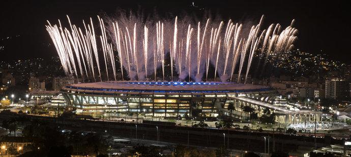 Slavný stadion Maracana bude místem, kde se zahájí LOH 2016