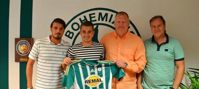 Dominik Mašek podepsal v Bohemians 1905 tříletou smlouvu a doufá, že restartuje kariéru