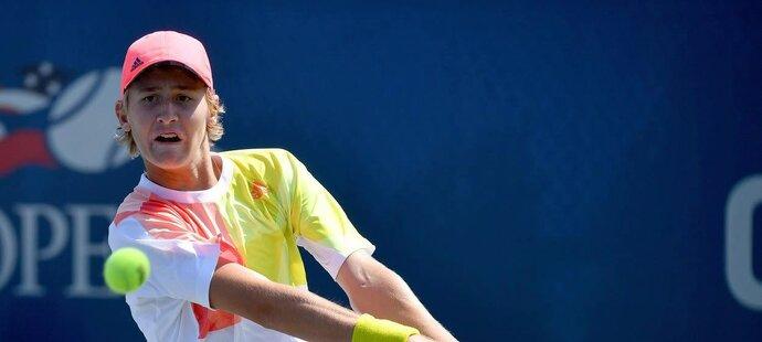 Sebastian Korda si zahrál v juniorské soutěži na US Open