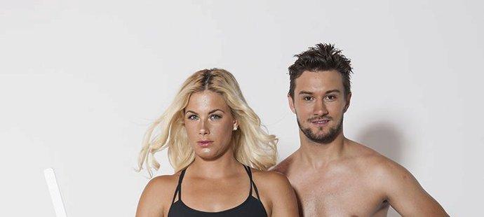 Petr Mrázek patří mezi nejperspektivnější brankáře v NHL, jeho přítelkyně Sára Olivová je zase nadějná beachvolejbalistka