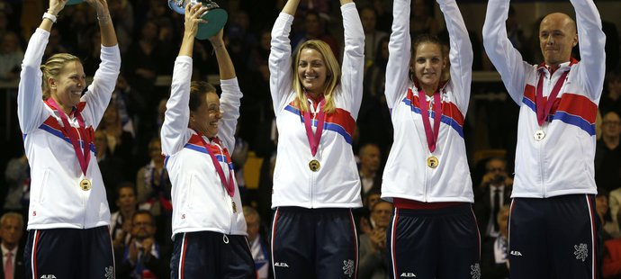 Český tým si opět po roce zopakoval slavný okamžik