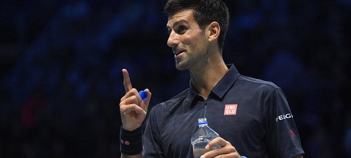 Novak Djokovič si zatím na Turnaji mistrů počíná suverénně