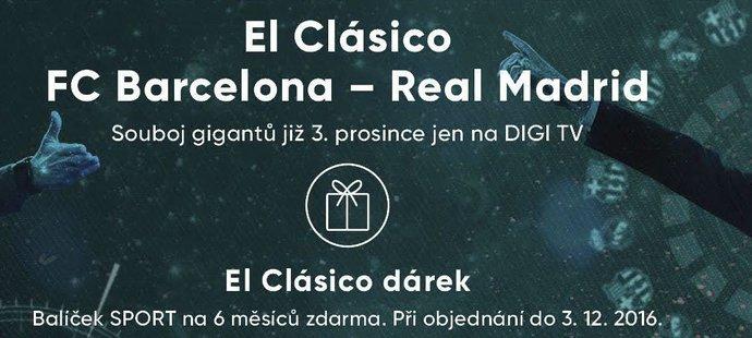 EL Clásico na DIGI TV