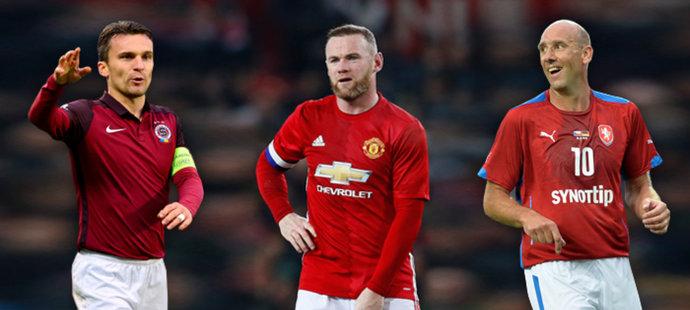 Koller o útočnících v lize: Lafata je nejlepší, kdo mu připomíná Rooneyho?