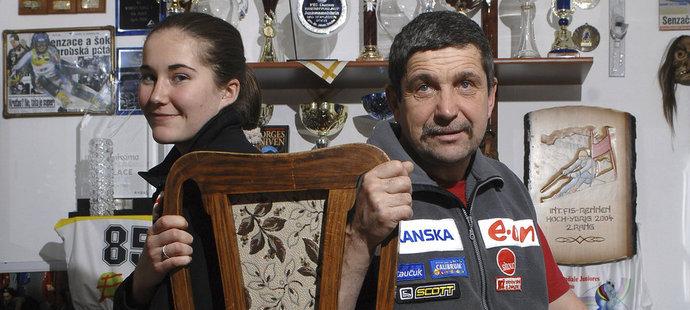 Šárka Strachová se po 6 letech potkala s otcem Petrem Záhrobským. Jak to dopadlo?