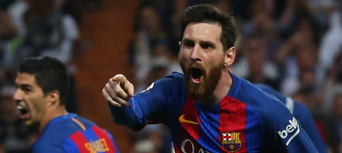 Barcelona porazila v Real Madrid 3:2. V samém závěru rozhodl hvězdný Lionel Messi