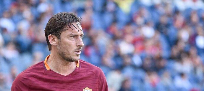 Legendární Francesco Totti se loučí s AS Řím, o víkendu odehraje poslední utkání
